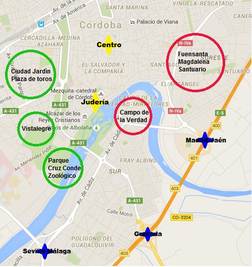 Mapa Zona Azul Valencia.Donde Aparcar Gratis En Cordoba Queverencordoba Com